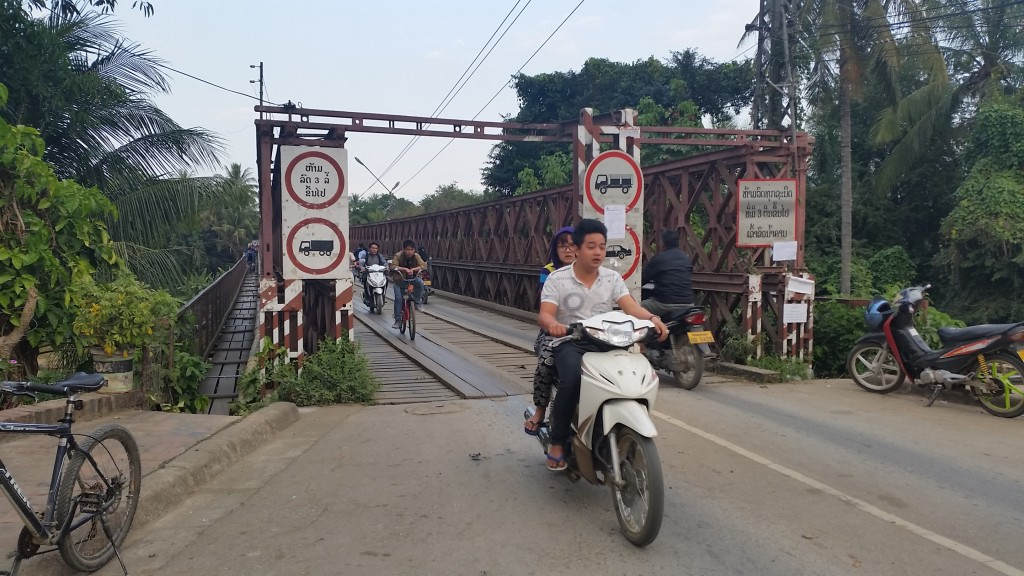 The old bridge, Luang Prabang