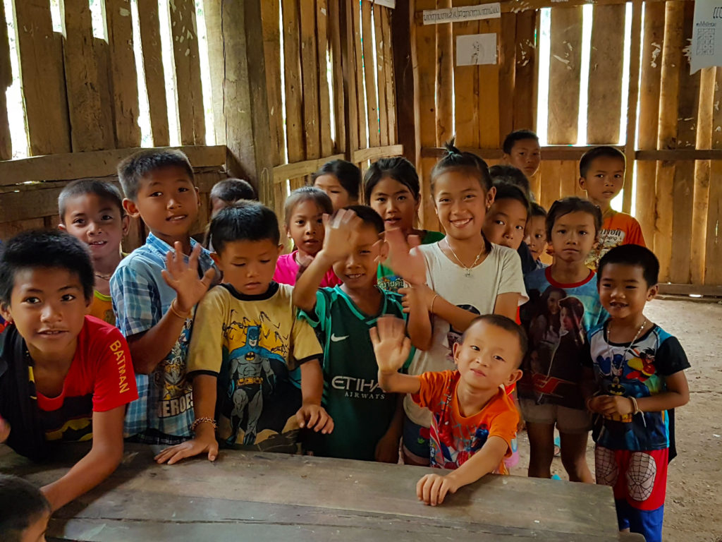 Community development projects in rural Laos